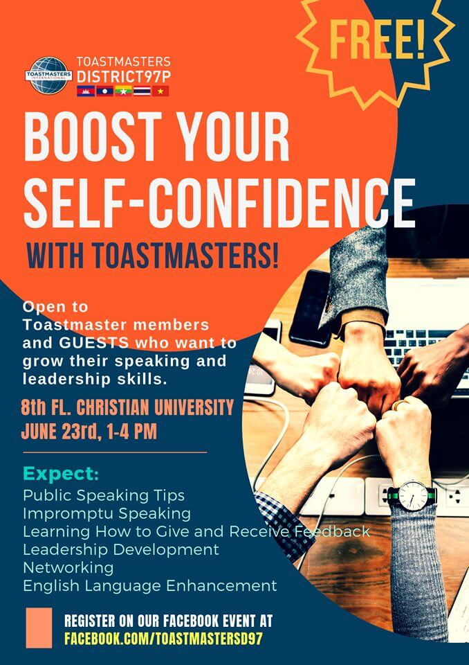 Boost Your Self-Confidence_Sunday 23 June 2019